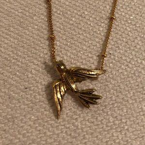 Chloe + Isabel bird necklace